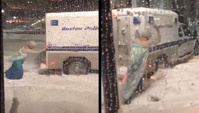 """""""Elsa"""" jasno wydawała wskazówki policjantom."""