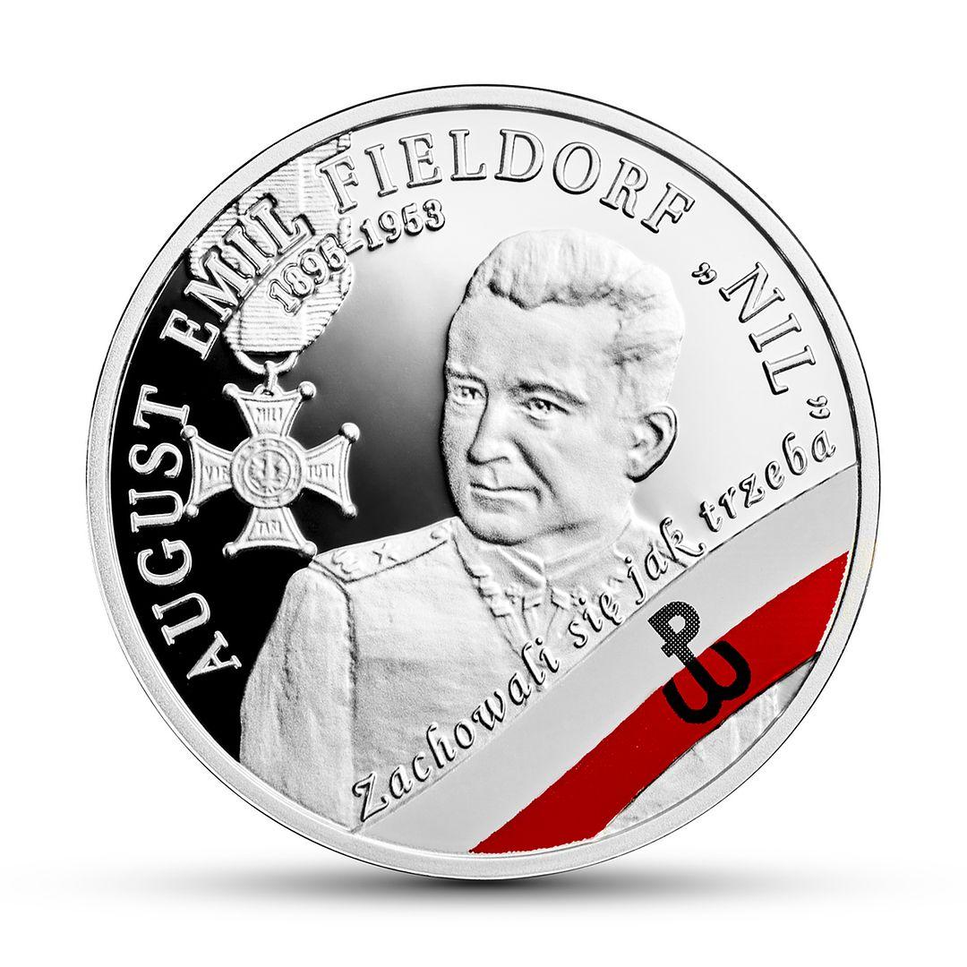 Nowa moneta z NBP. Generał Fieldorf na dziesięciozłotówce
