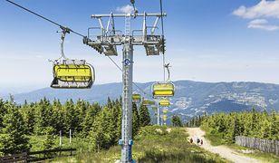 Pierwsza kolej linowa na Skrzyczne powstała pod koniec lat 50. XX w.