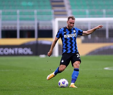 STADIO GIUSEPPE MEAZZA, MILANO, ITALY - 2020/09/19: Christian Eriksen of FC Internazionale in action during the friendly match between FC Internazionale and Pisa Sc. . Fc Internazionale wins 7-0 over Pisa Ac. (Photo by Marco Canoniero/LightRocket via Getty Images)