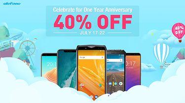 Wielka wyprzedaż smartfonów Ulefone w dniach 17-22 lipca