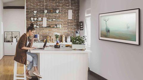 Samsung Frame TV: telewizor, który zszedł z ołtarza, aby zostać dziełem sztuki