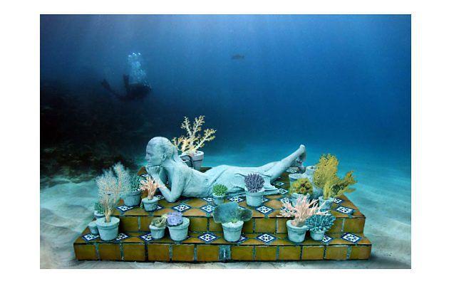 Podwodne Muzeum, Cancun, Meksyk