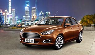 Nowy Ford Escort debiutuje w Chinach