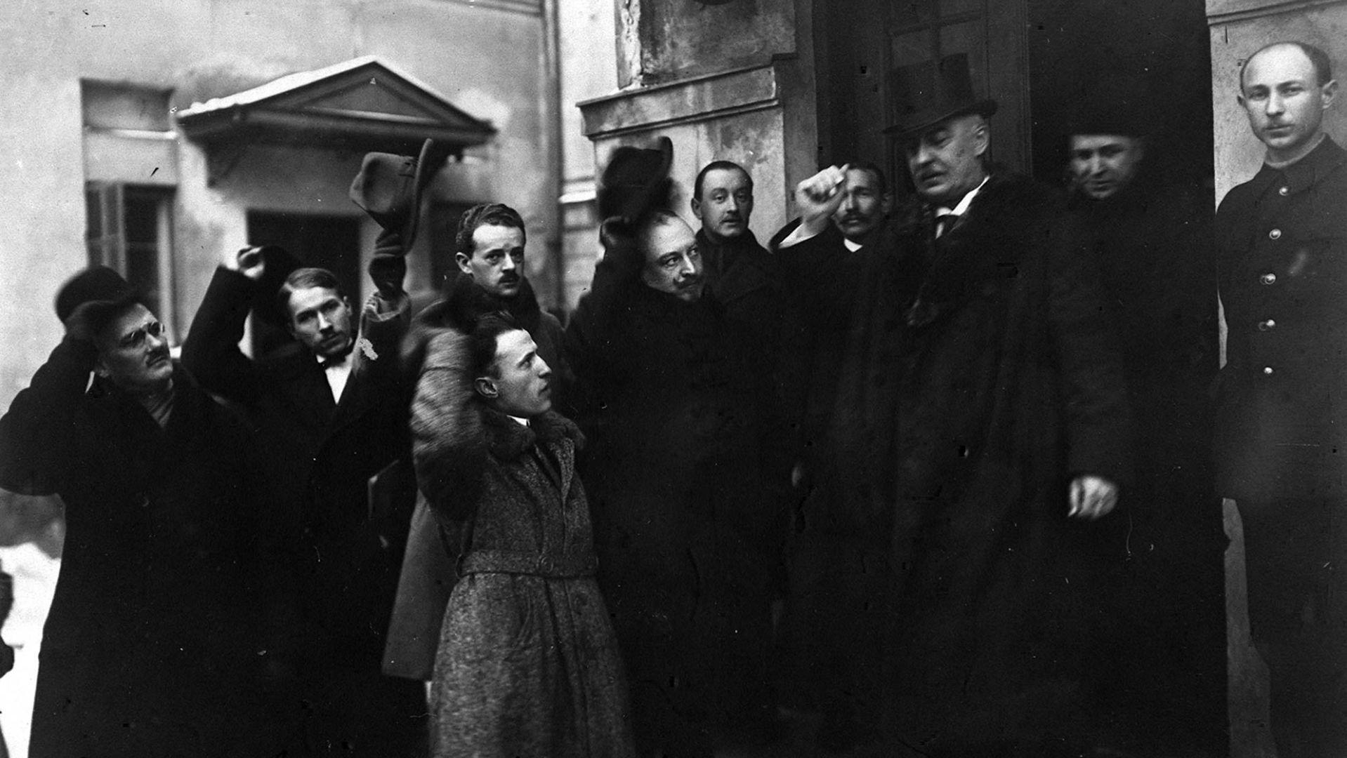Gabriel Narutowicz po zaprzysiężeniu