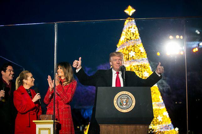 Trumpowie pierwszy raz świętują Boże Narodzenie w Białym Domu