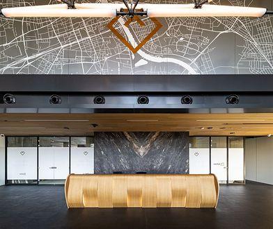 Budynek wyróżnia się designem i niezwykłymi wnętrzami