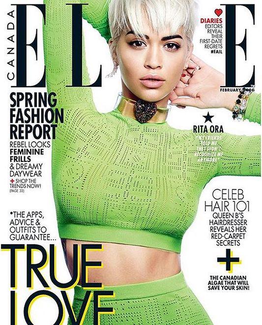 "Rita Ora gwiazdą ""Elle Canada"""