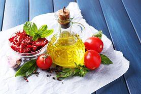 Suszone pomidory - charakterystyka, likopen, wartości odżywcze, właściwości, zastosowanie w kuchni, przepis