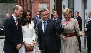 Księżna Kate i książę William odwiedzili Muzeum Powstania Warszawskiego