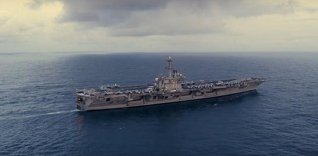 USA wysyłają lotniskowiec na Morze Południowochińskie. Chiny reagują