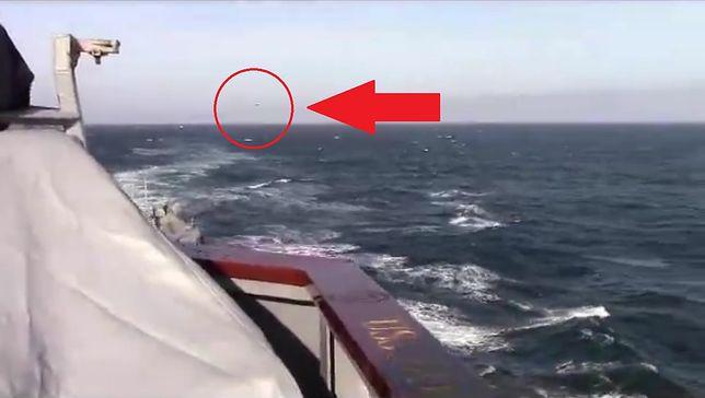 Rosyjski bombowiec przeleciał blisko okrętu USA