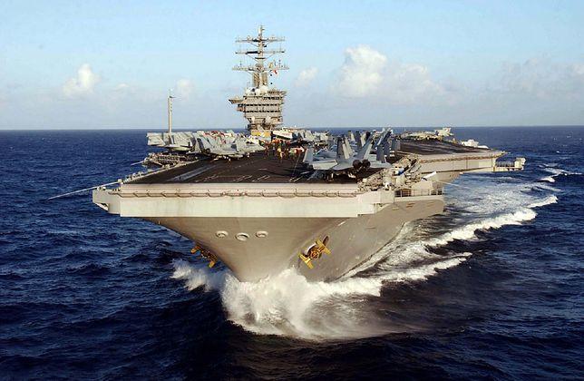 Pentagon podjął decyzję. Lotniskowiec USA opuszcza Zatokę Perską