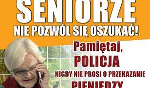"""Śląskie. Kolejny atak """"na policjanta"""" w Rudzie Śląskiej. Seniorka nie dowierzała prawdziwej policji"""