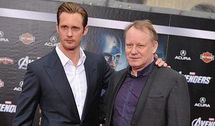 Alexander Skarsgard z ojcem Stellanem