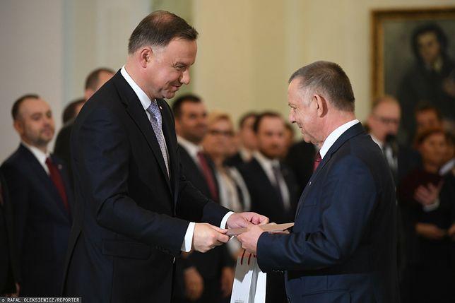 Prezydent Andrzej Duda ma bardzo dobre relacje z Marianem Banasiem