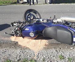 Policjant zginął w wypadku. Jechał właśnie na służbę