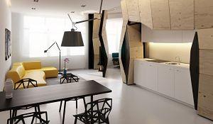 Elastyczne mieszkanie z ruchomymi ścianami