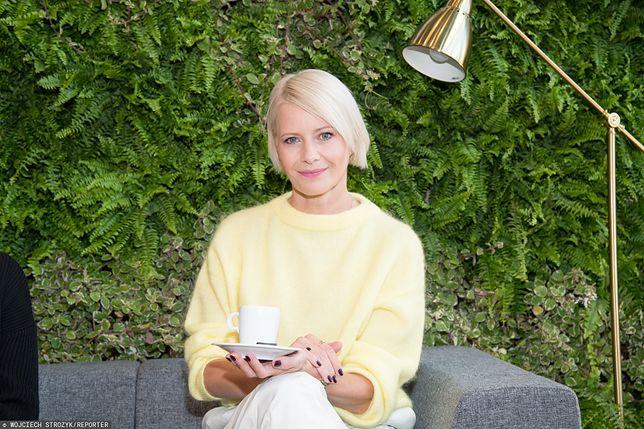 Małgorzata Kożuchowska ma już swój wiklinowy kosz na lato