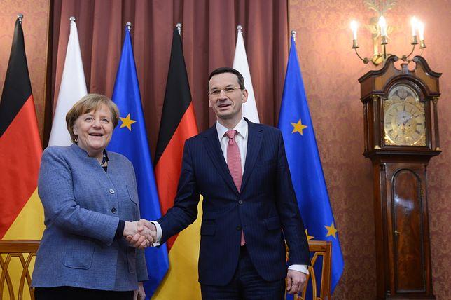 Angela Merkel w Belwederze. Jesteśmy na miejscu