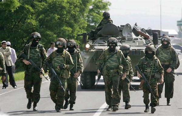 Żołnierze rosyjskich sił specjalnych