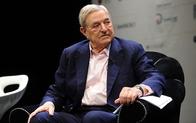 George Soros, finansista.