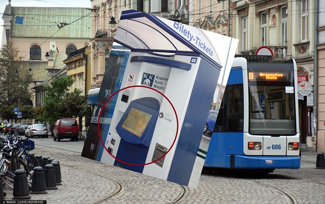 Kraków. Nieznany sprawca smaruje automaty biletowe fekaliami