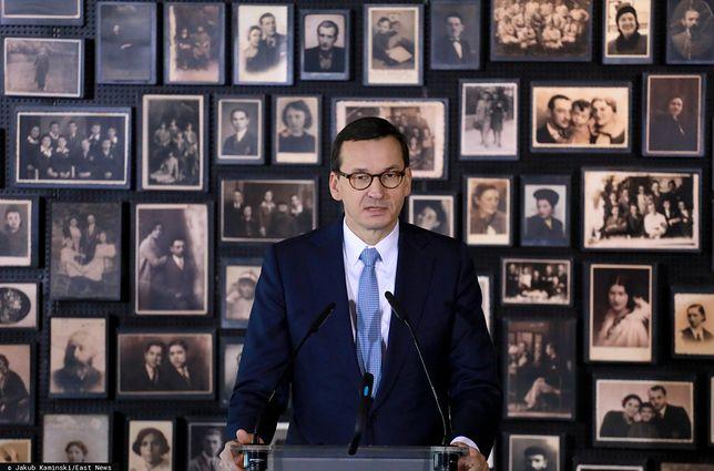75. rocznica wyzwolenia obozu Auschwitz-Birkenau. Mateusz Morawiecki komentuje.