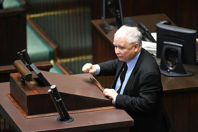 Chodzi o słowa Kaczyńskiego, które wypowiedział podczas lipcowego posiedzenia Sejmu