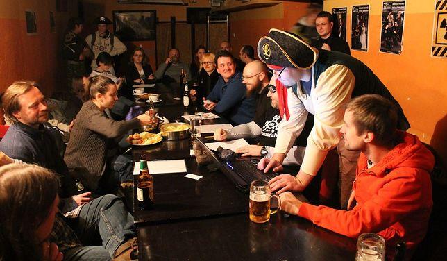 Na spotkaniu warszawskich pastafarian