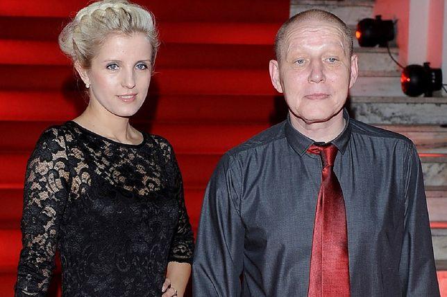Krzysztof Jackowski z żoną, Katarzyną