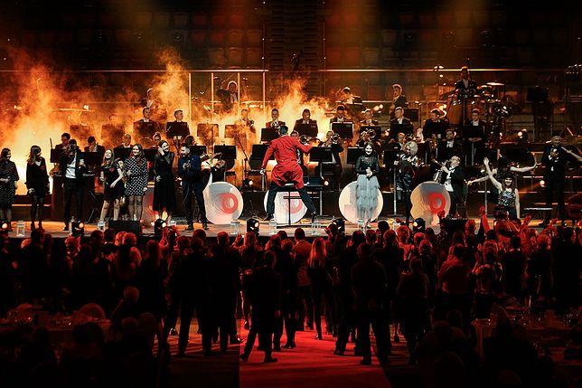 Narodowa Orkiestra Dęta podczas jednego ze swoich występów