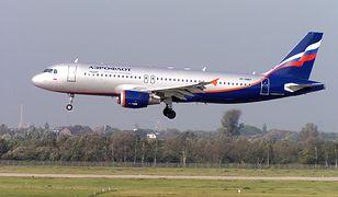 Samolot linii Aeroflot