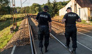 Po wypadku wstrzymany był ruch kolejowy na odcinku Oświęcim - Bieruń