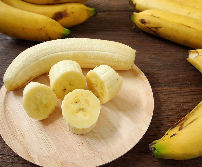Końcówka banana to najstarsza część owocu.