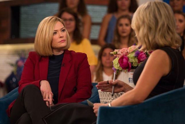 Susanna Cahalan podczas wywiadu z Megyn Kelly