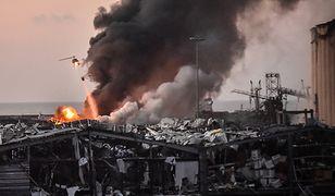 Syk nieba, huk gromu, płacz Bejrutu