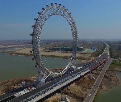 Wyjątkowy diabelski młyn w Chinach. Wyższy od London Eye!