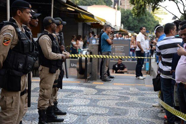 W związku z falą przemocy na ulicach rozmieszczono dodatkowych policjantów