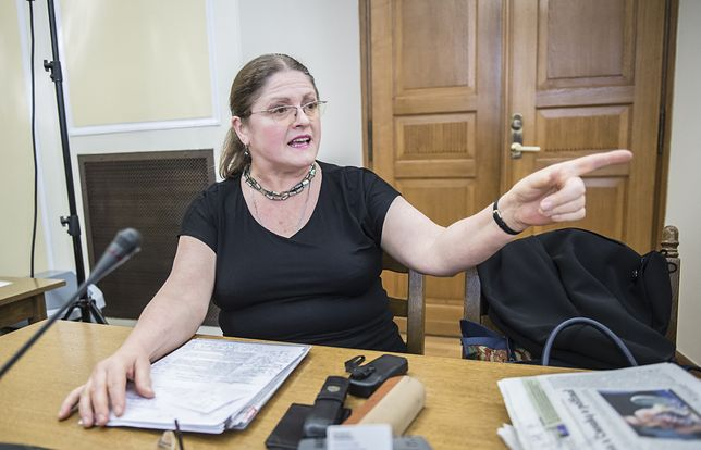 Krystyna Pawłowicz wypomina premierowi Szwecji, że płakał podczas przemówienia
