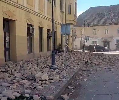 Chorwacja. Trzęsienie ziemi obok Zagrzebia. Zginęły dwie osoby, w tym 12-latka