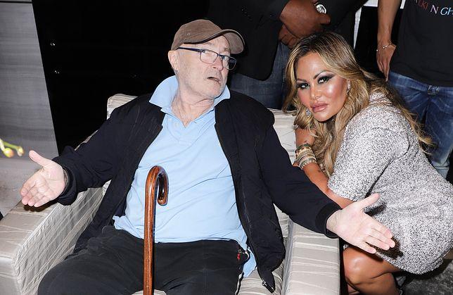 Phil Collins walczy z byłą żoną, Orianne Cevey