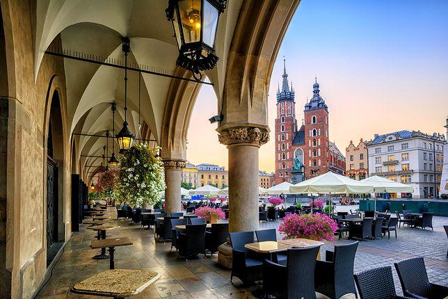 Urokliwy rynek to jedno z najchętniej odwiedzanych miejsc w Krakowie