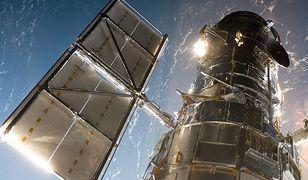 Teleskop Hubble'a zarejestrował kolizję materii w czarnej dziurze
