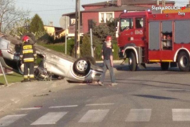 Kierowca miał blisko 2 promile alkoholu w wydychanym powietrzu