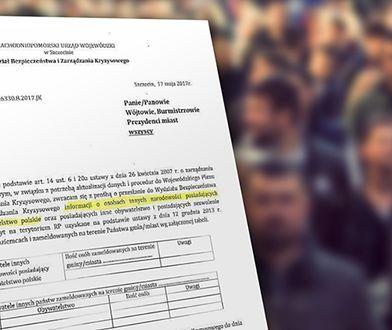 Nowy pomysł PiS: żądają informacji o obywatelach innych narodowości