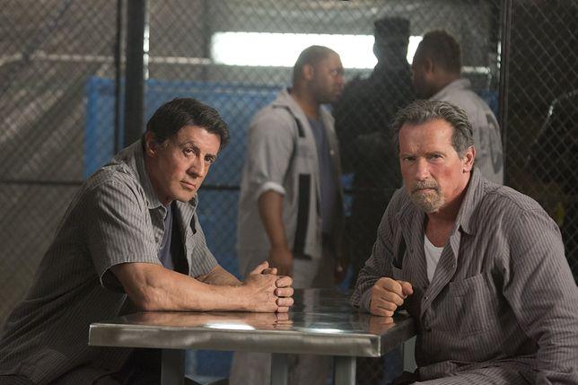 "Sylvester Stallone i Arnold Schwarzenegger w filmie ""Plan ucieczki"" (2013)"