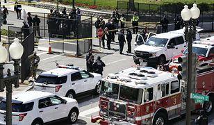 USA. Auto wjechało w barykadę Kapitolu, dwie osoby nie żyją