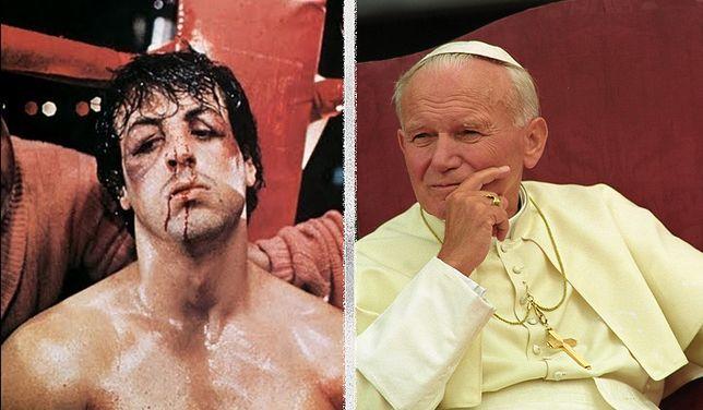 Sylvester Stallone chciał, aby Jan Paweł II zagrał u niego w filmie...