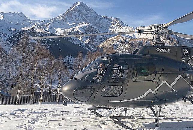 Dwa dni po awarii wyciągu w gruzińskim kurorcie spadł helikopter z turystami